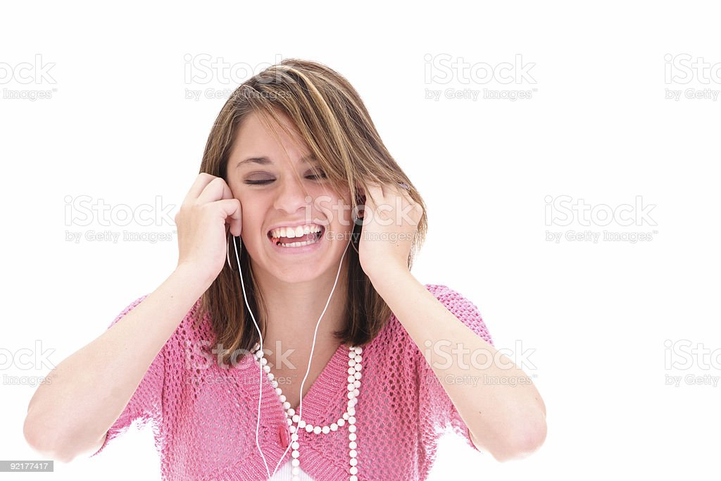 Bliss: Louder! royalty-free stock photo