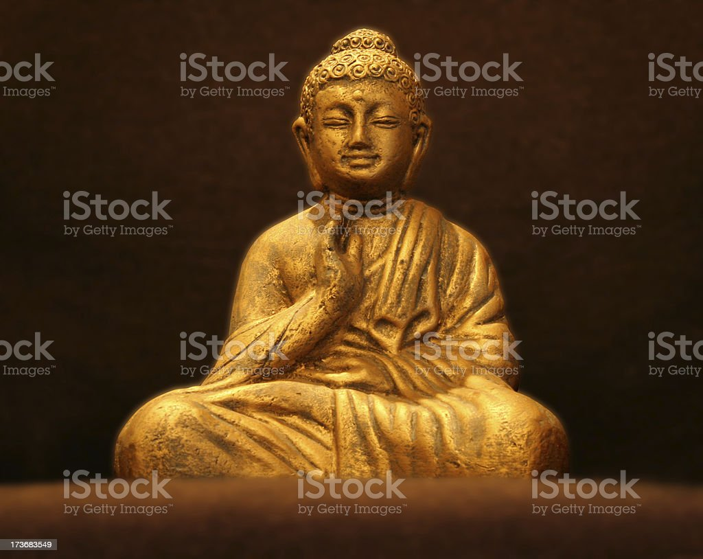 Blissful Buddha v2 royalty-free stock photo