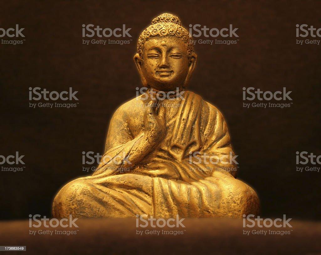 Blissful Buddha v2 stock photo