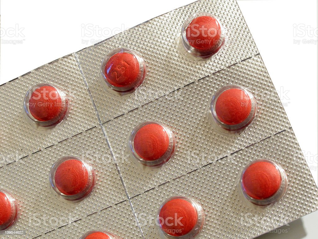 blister medication pack royalty-free stock photo