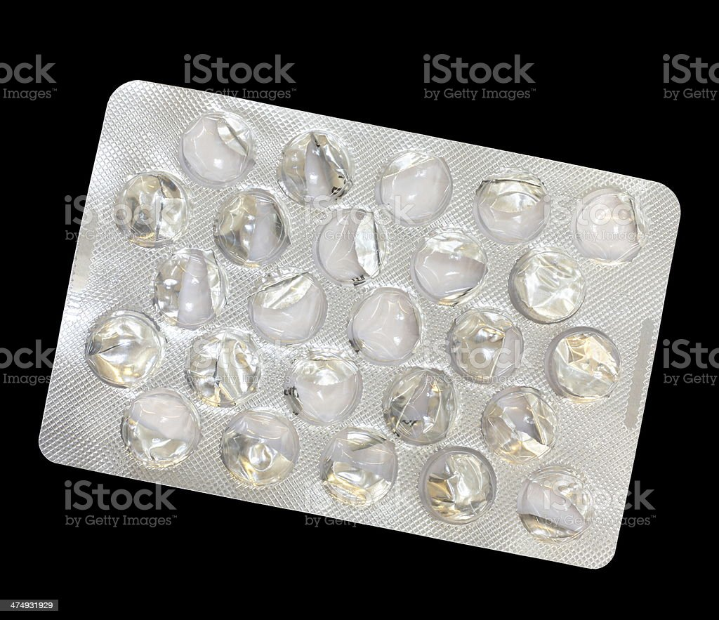 Blister Pack royalty-free stock photo