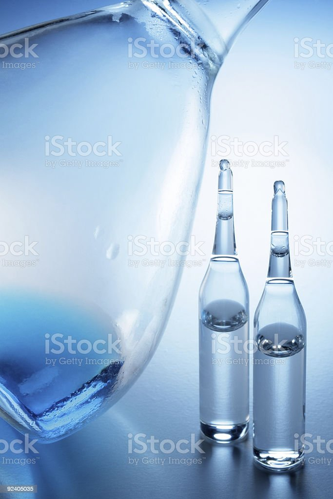 Ampoule royalty-free stock photo