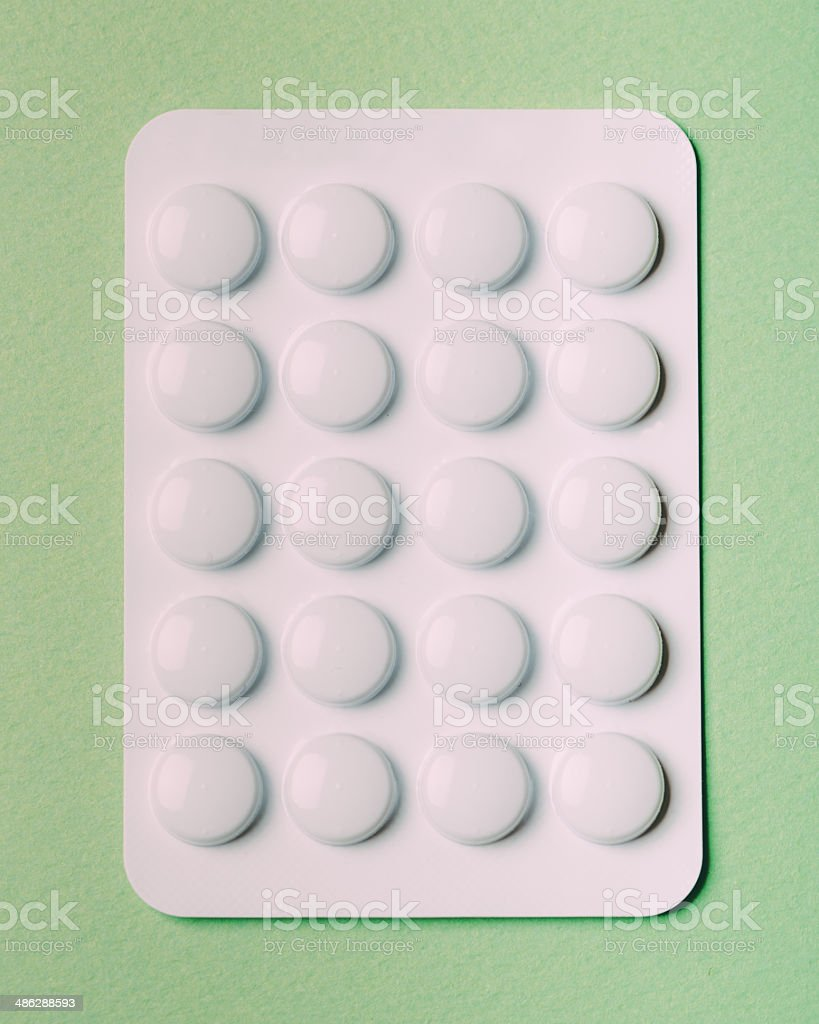 Blister Tablets Pill stock photo