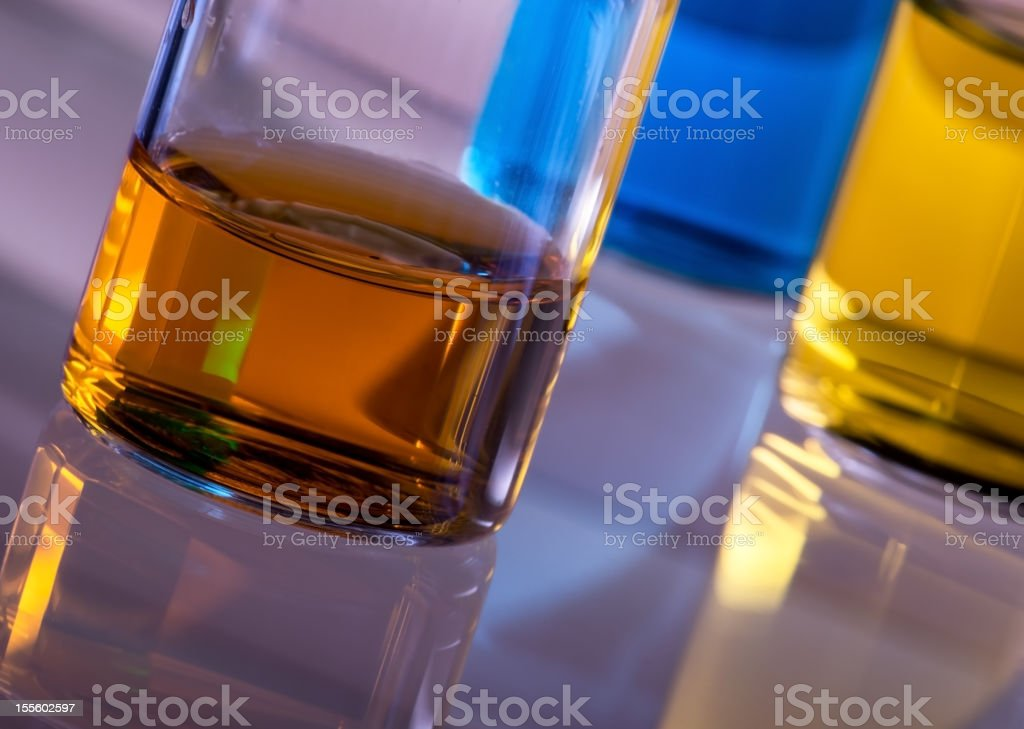 Ampoules stock photo