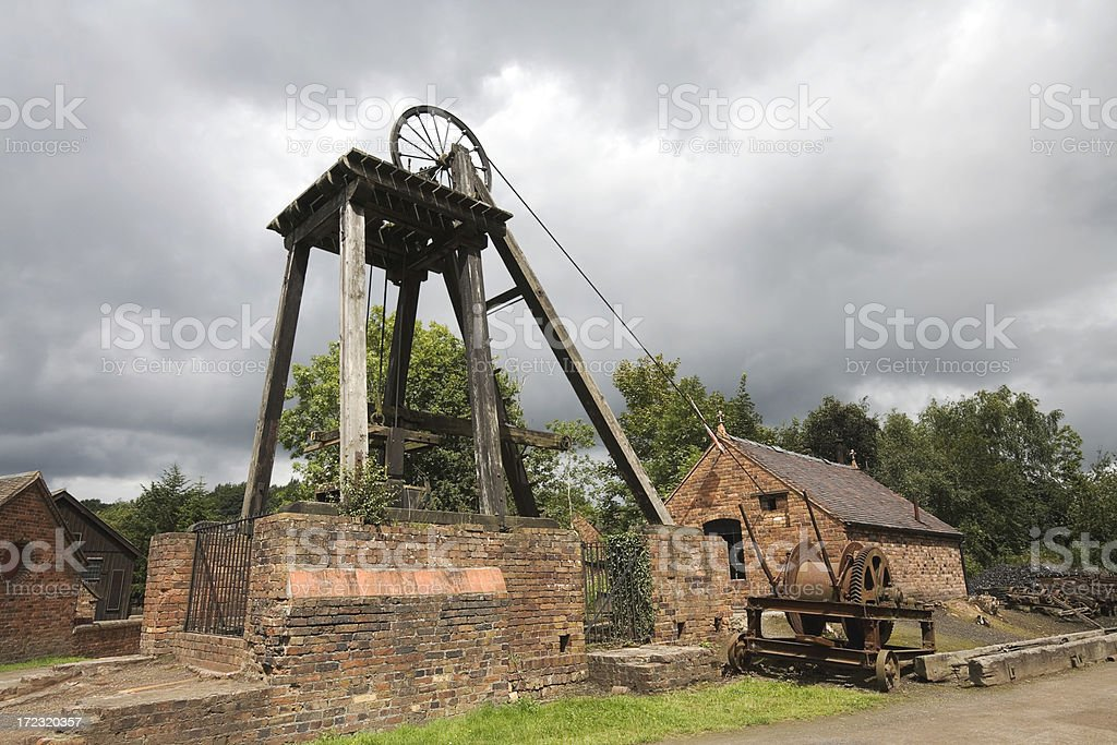 Blists Hill Mine royalty-free stock photo