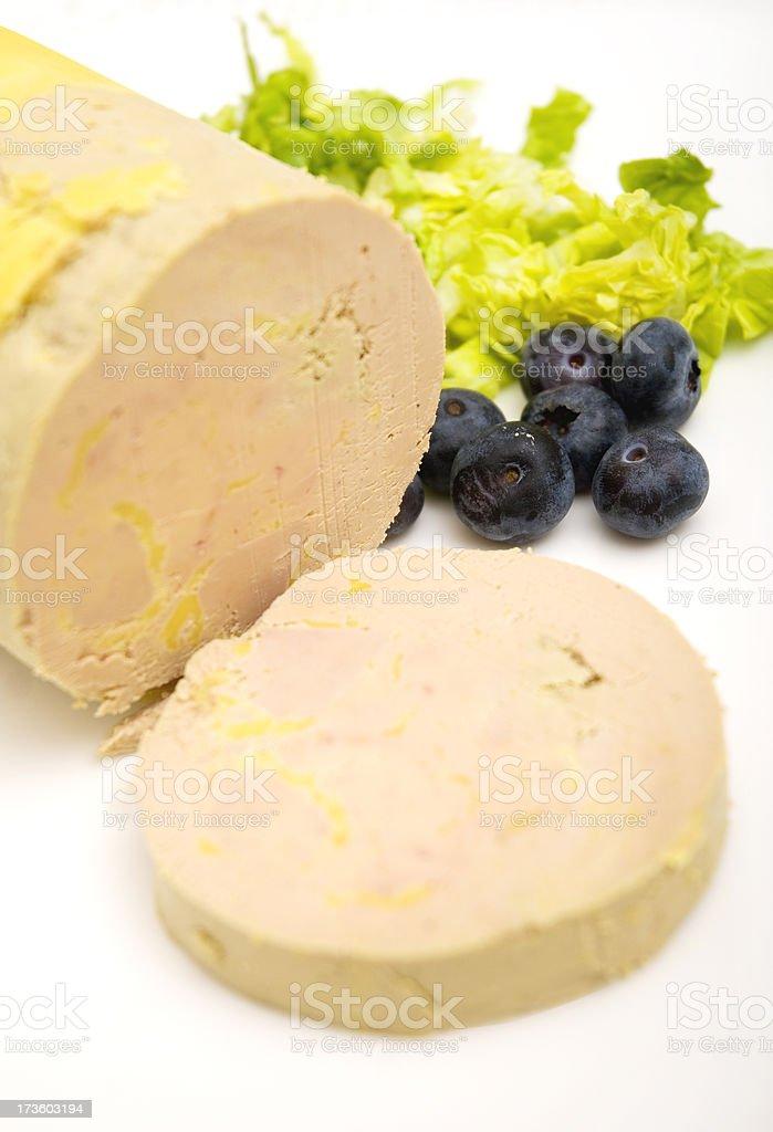 Bloc de Foie stock photo