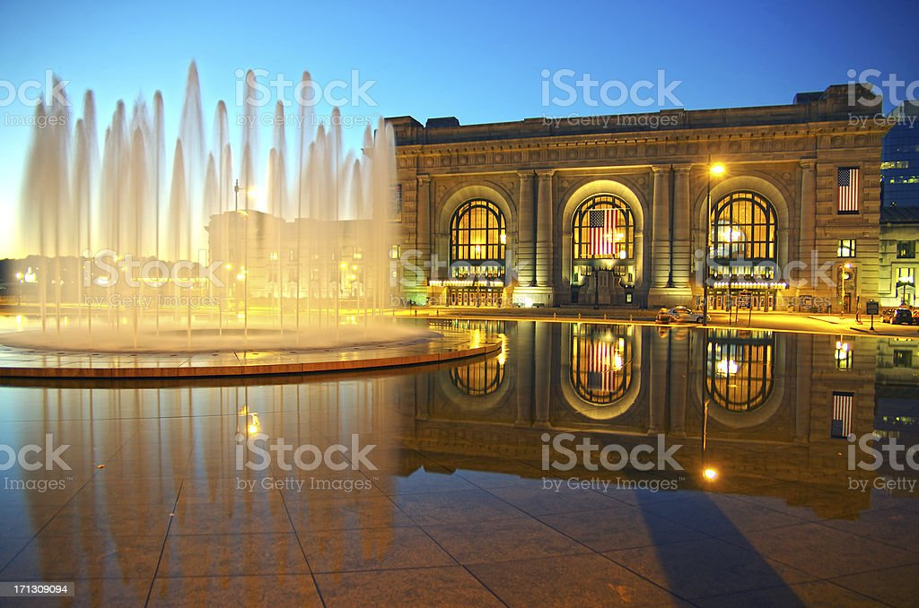 Bloch Fountain stock photo