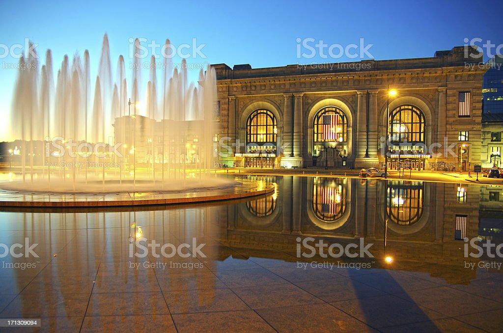Bloch Fountain stock photo