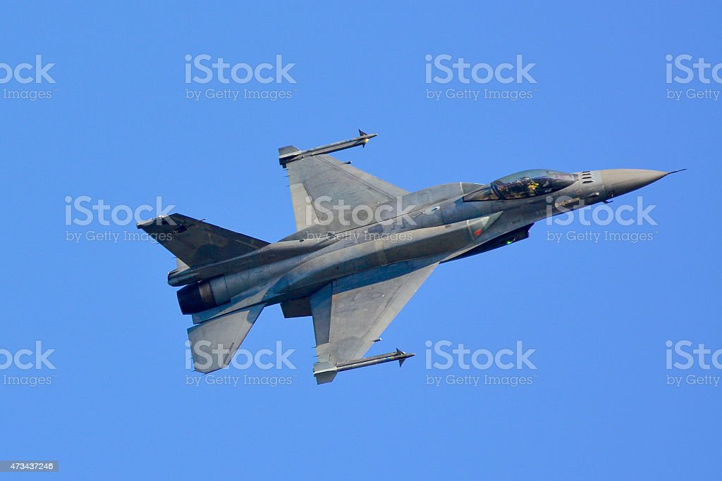 F-16C Block 52+ stock photo