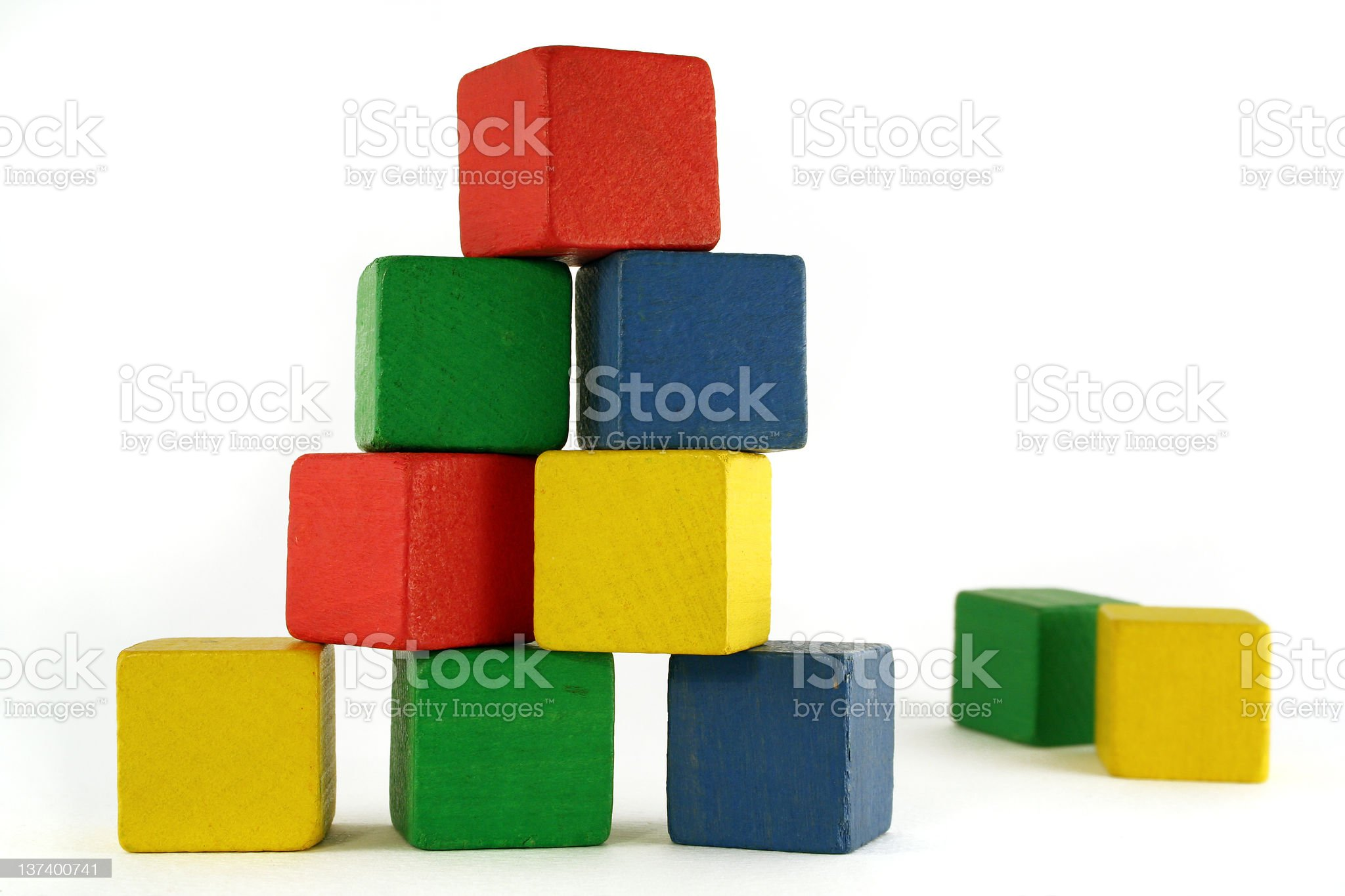 block building royalty-free stock photo