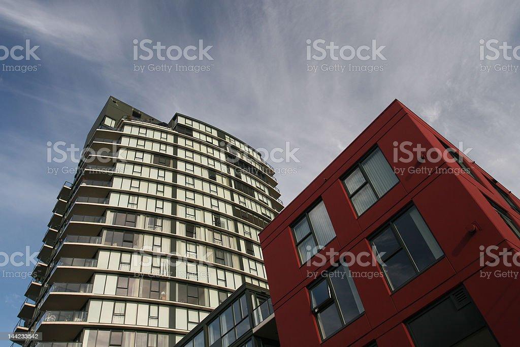 Block Condo royalty-free stock photo