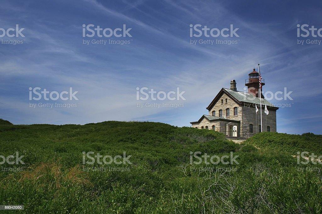 Block Island North Light stock photo