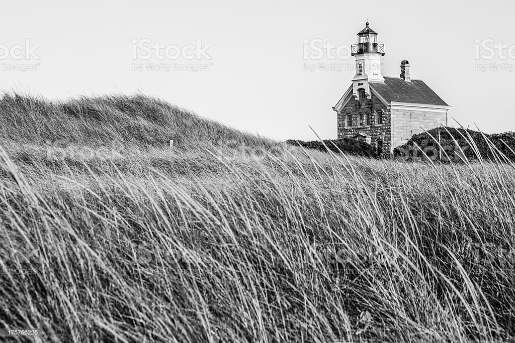 Block Island North Lighthouse royalty-free stock photo