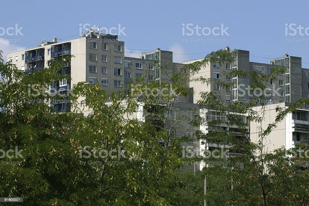 block Of Flat royalty-free stock photo