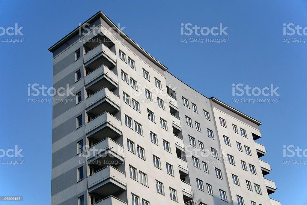 Block of flats royalty-free stock photo