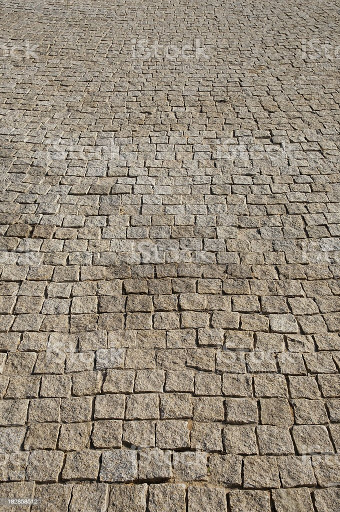 Block paving pattern stock photo