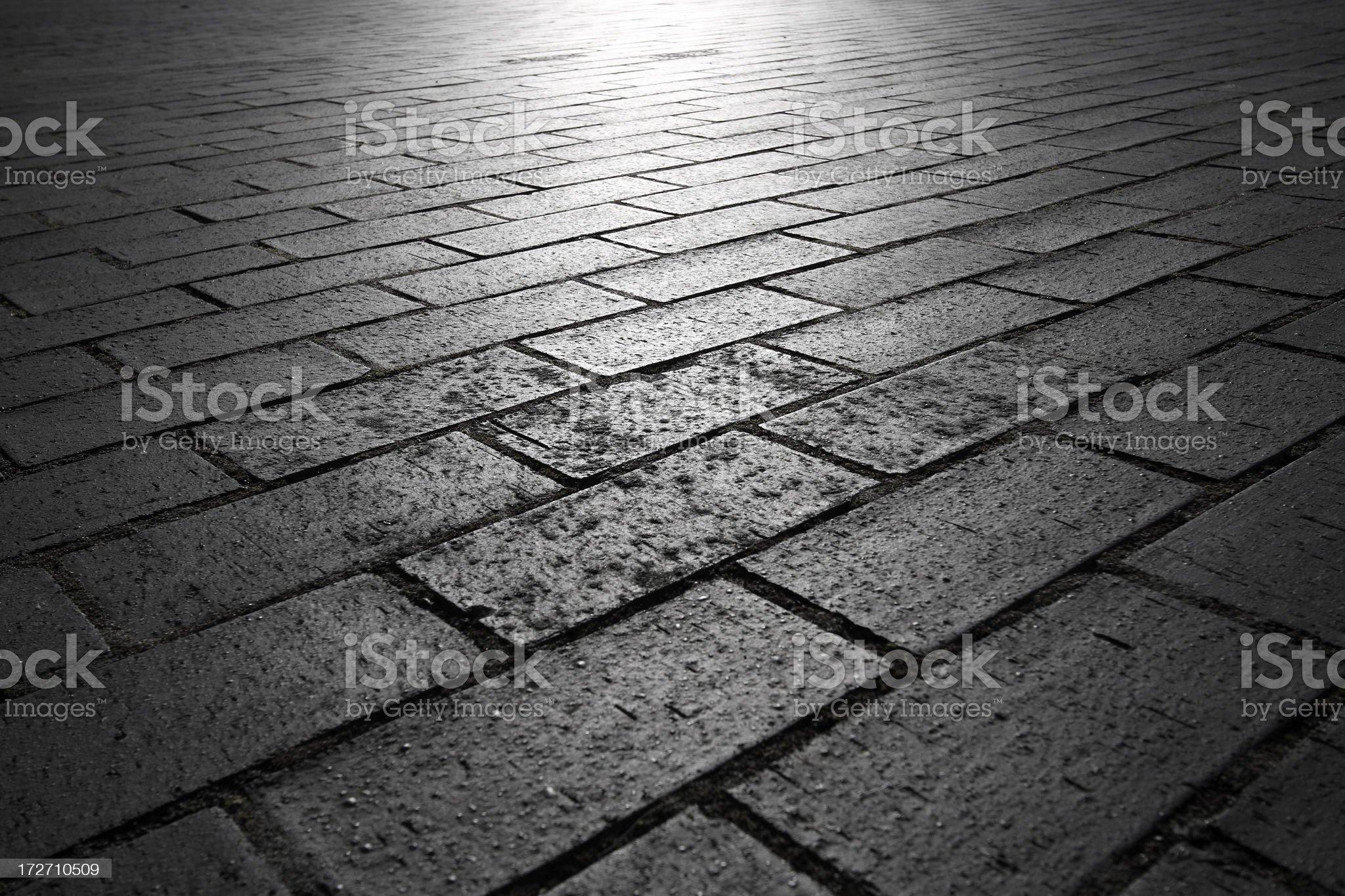 Block paving. royalty-free stock photo
