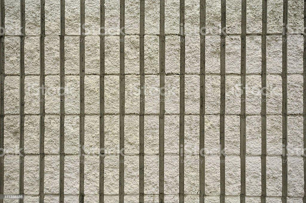 Block Wall Detail royalty-free stock photo