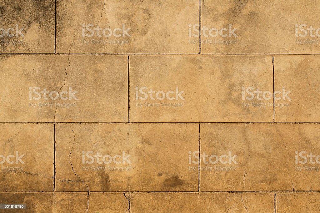 Block Wall stock photo