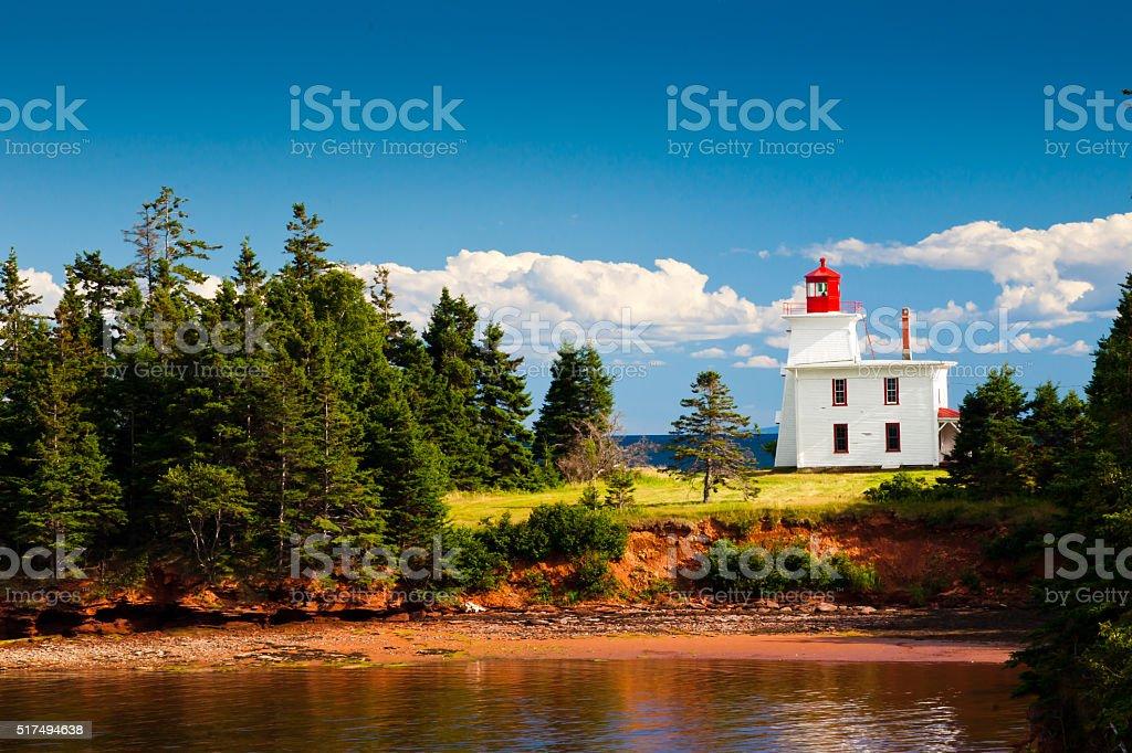 Blockhouse Lighthouse stock photo