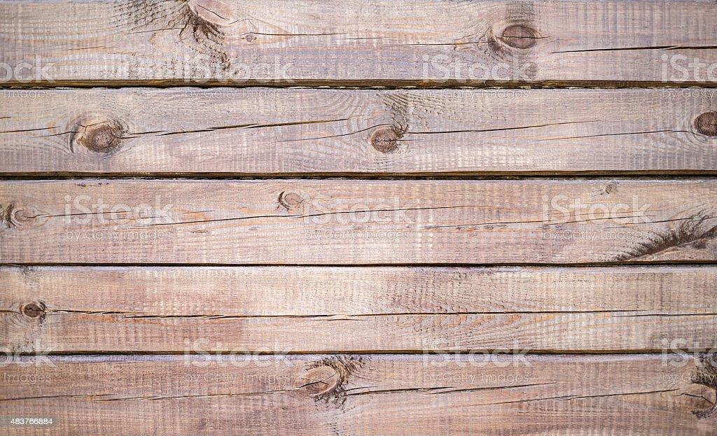 Blockhouse wall stock photo