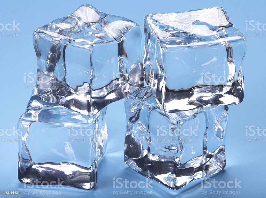 Blocks of ice royalty-free stock photo