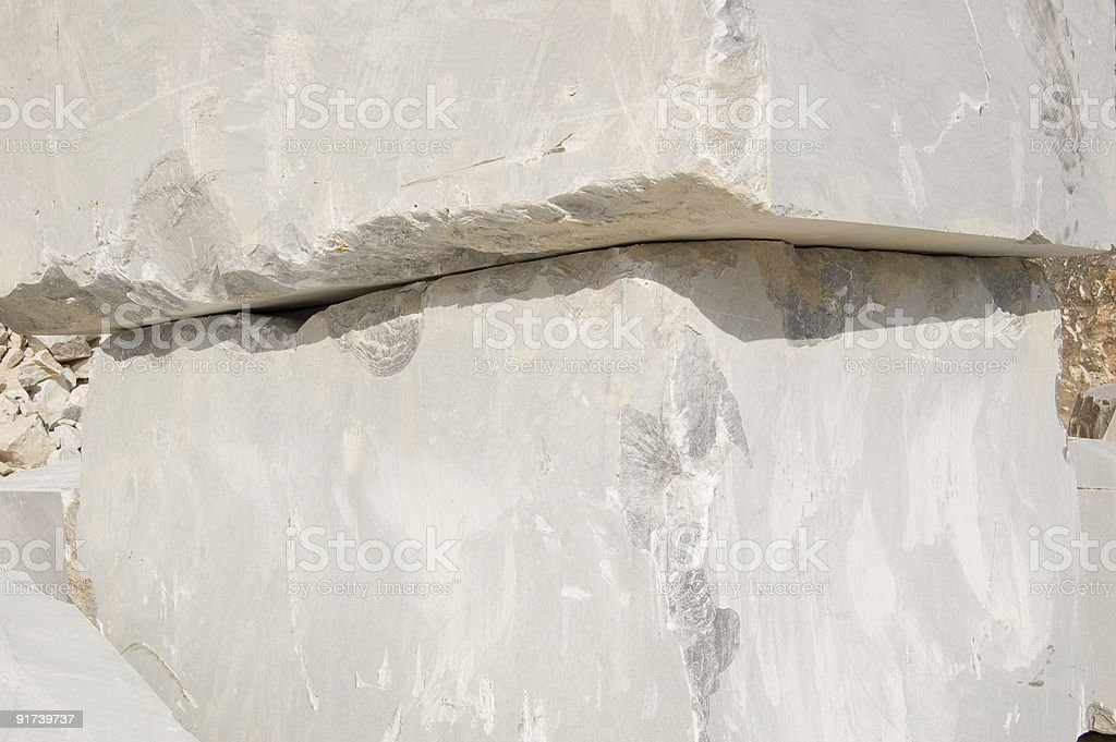 blocks of white marble royalty-free stock photo