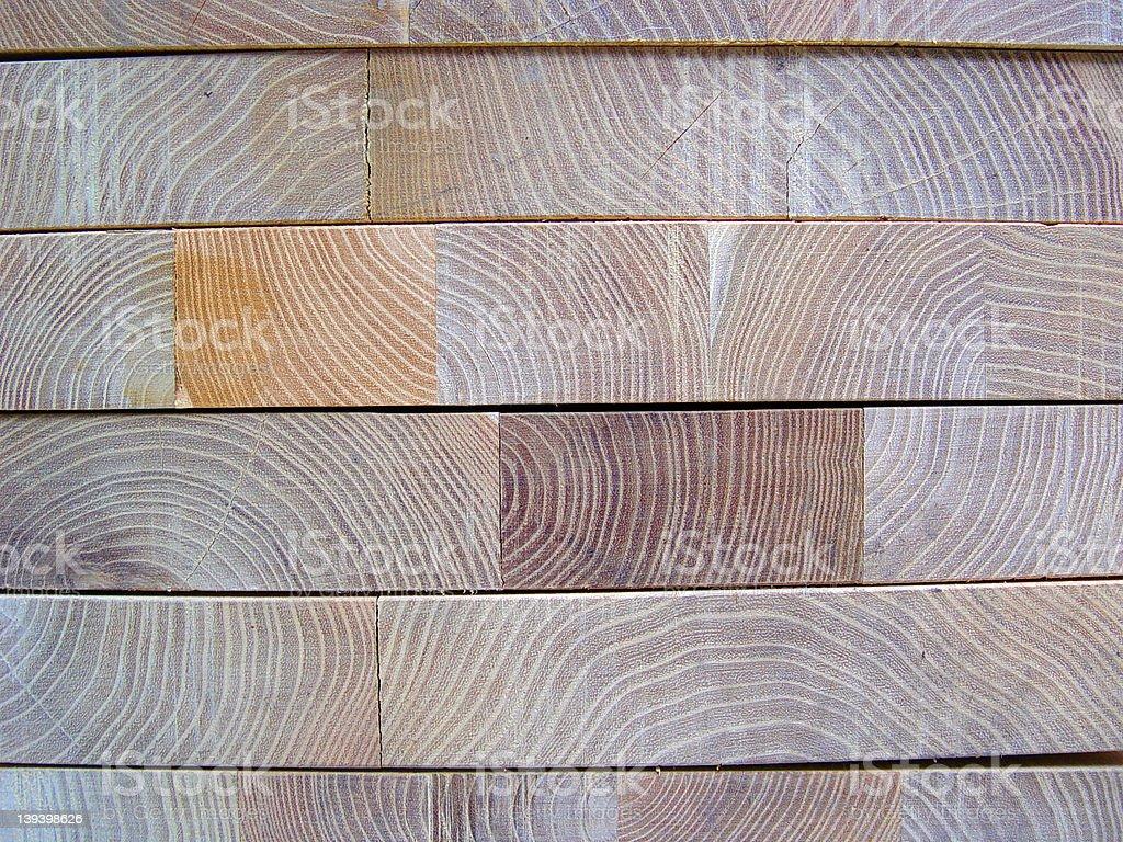 Blocks of Wood royalty-free stock photo