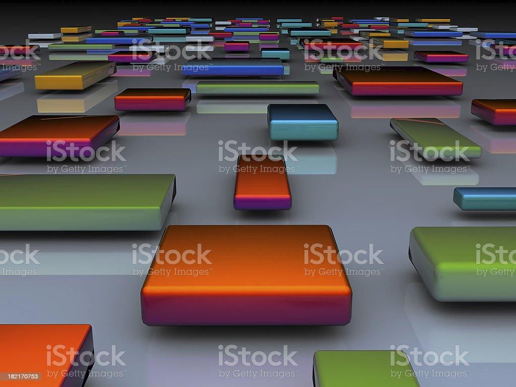 blocks perspective royalty-free stock photo