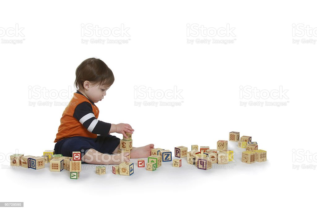 Blocks stock photo
