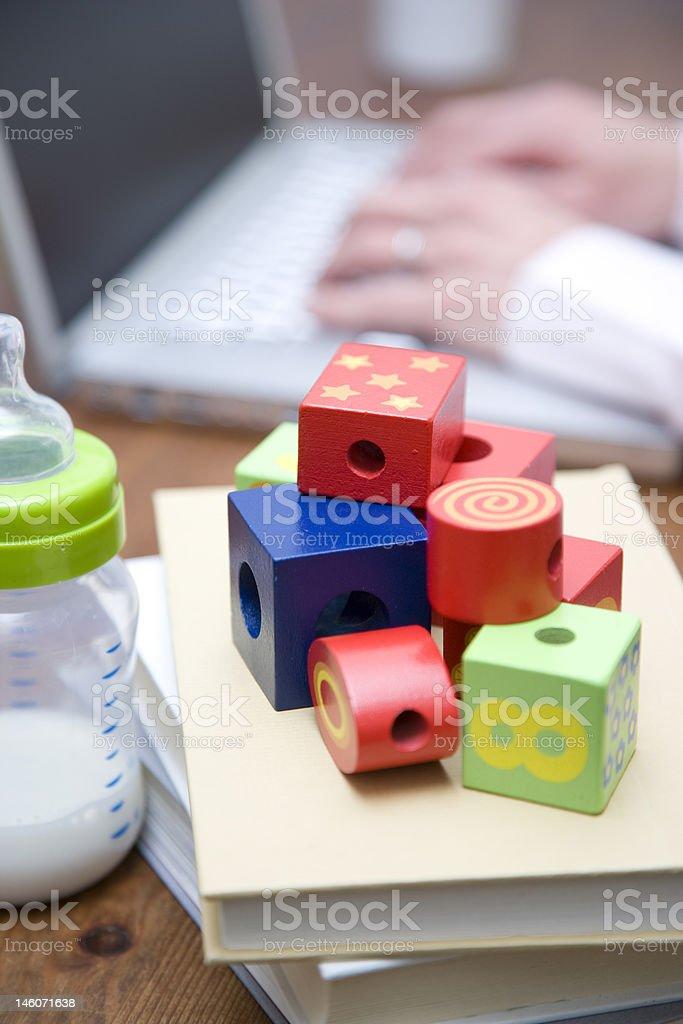 Blocks still life. royalty-free stock photo