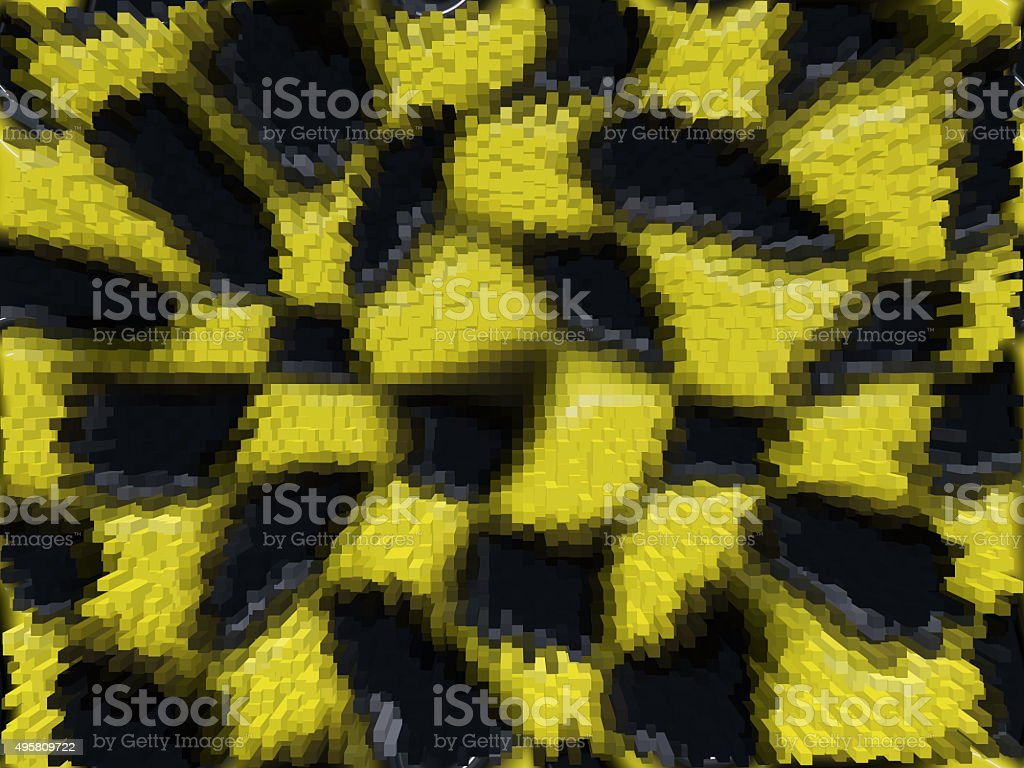 Blocky abstract background stock photo