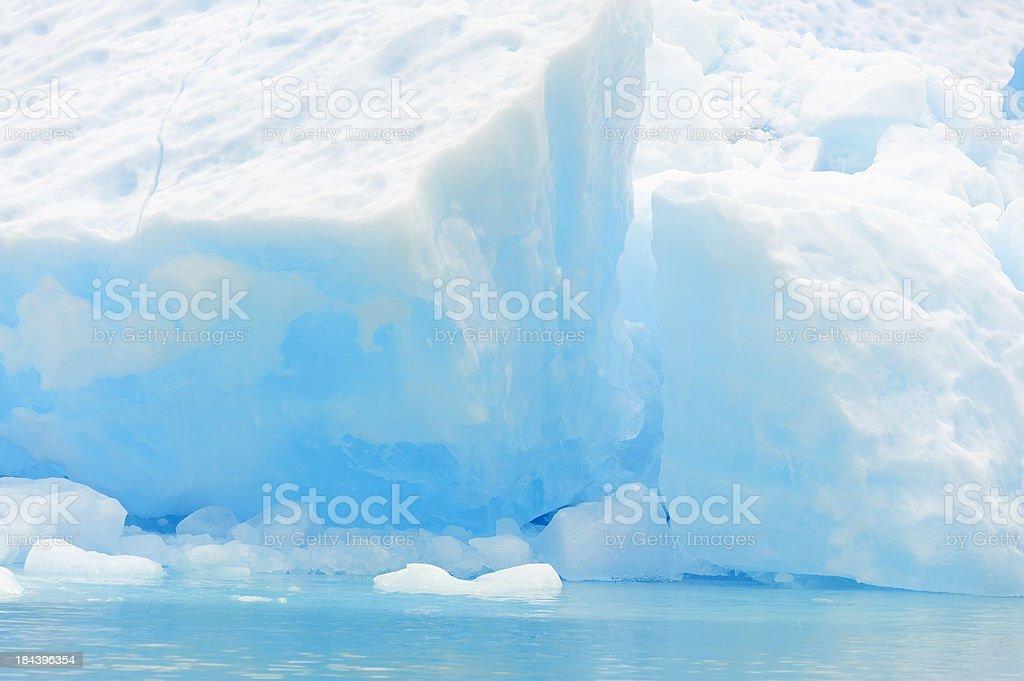 Blocky Iceberg stock photo