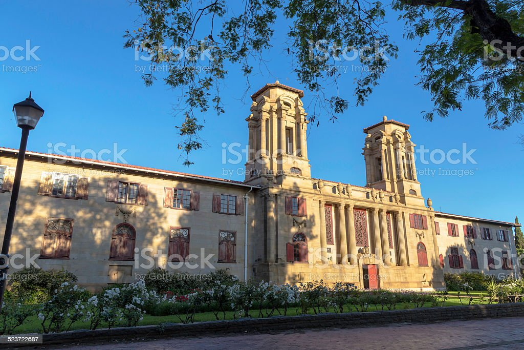 Bloemfontein City Hall stock photo