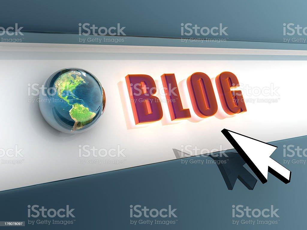 Blog stock photo