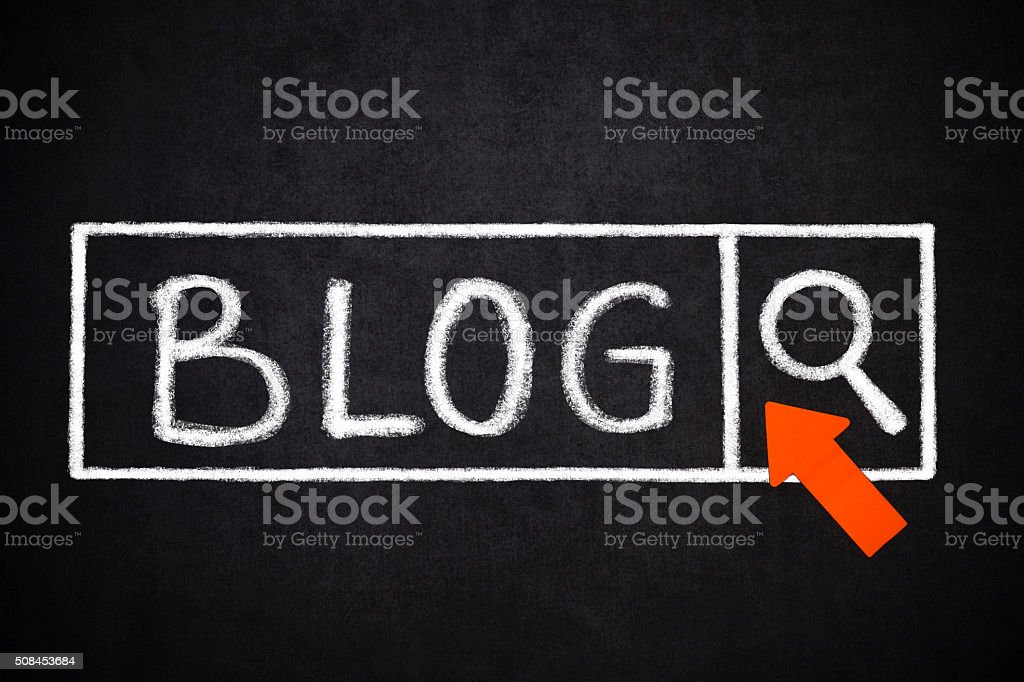 Blog- Search stock photo