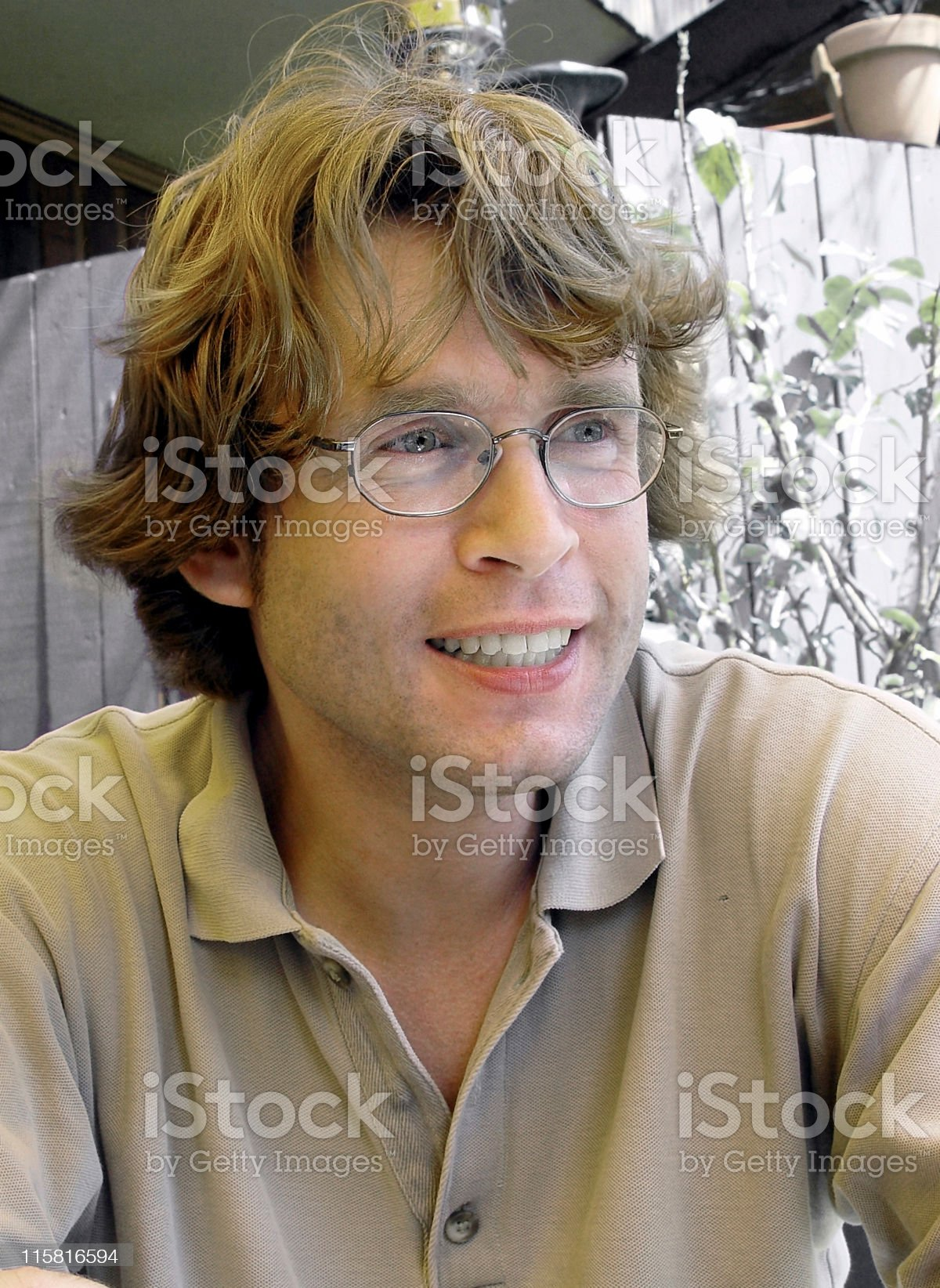 Blond guy royalty-free stock photo