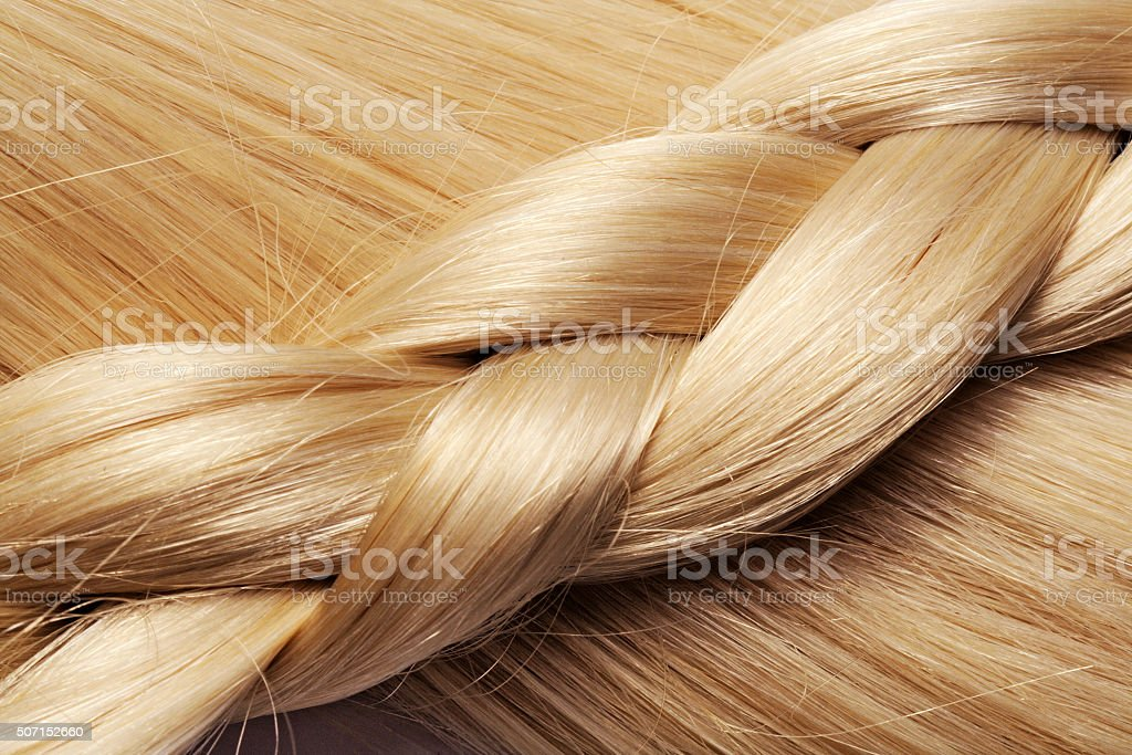 blond hair background stock photo