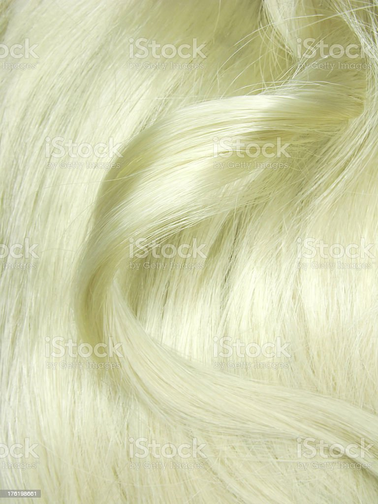 blond hair curl texture background royalty-free stock photo