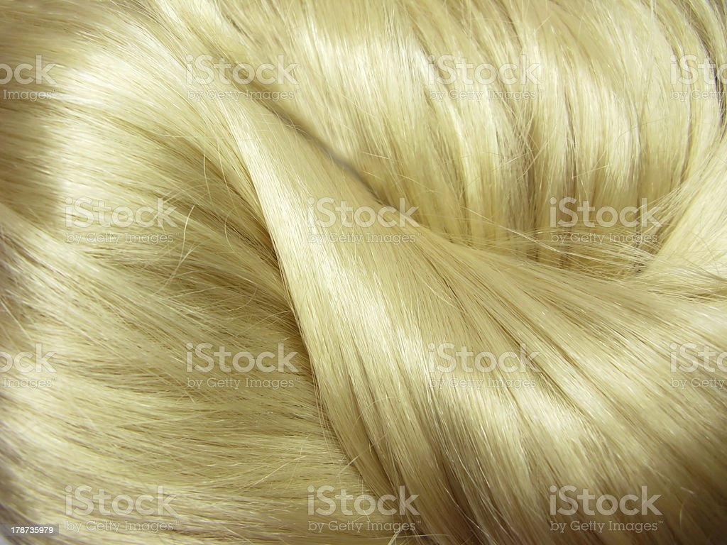 blond hair texture background royalty-free stock photo