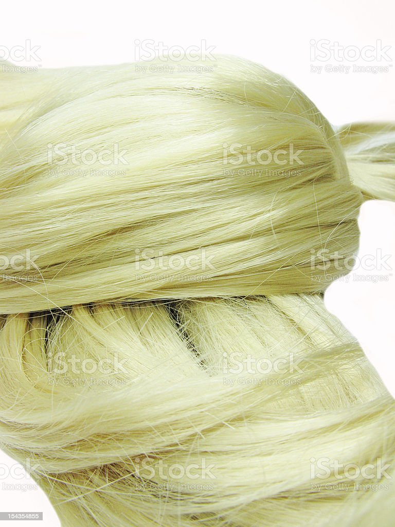 blond hair texture royalty-free stock photo