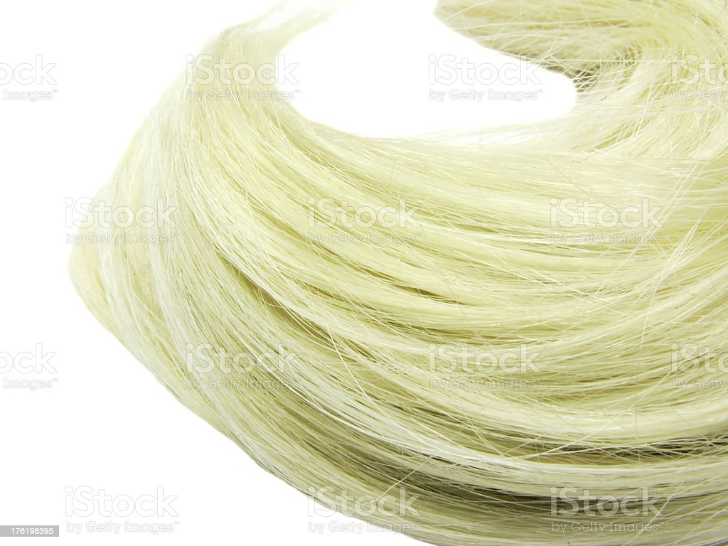 blond hair wave texture background royalty-free stock photo
