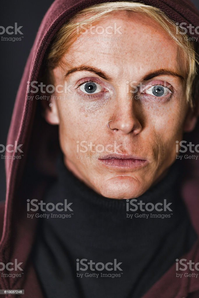 Blond Man In His 30s stock photo