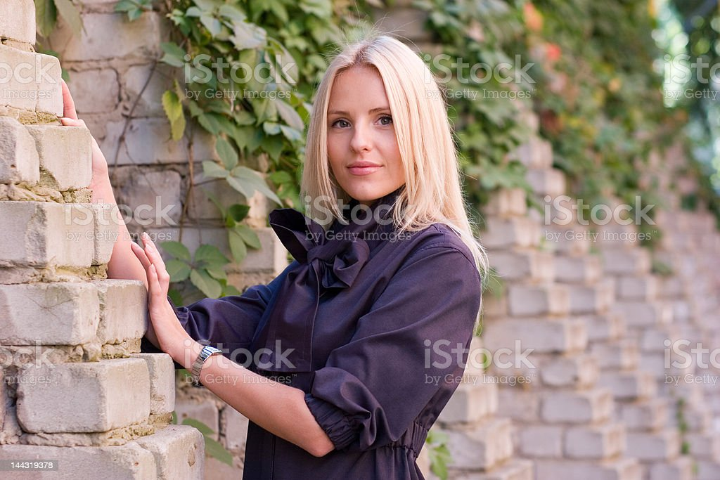 Blond royalty-free stock photo