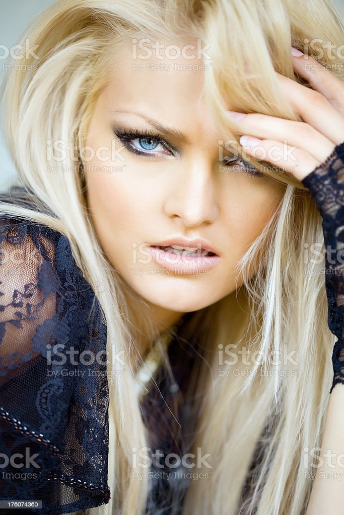 Blonde Beauty royalty-free stock photo
