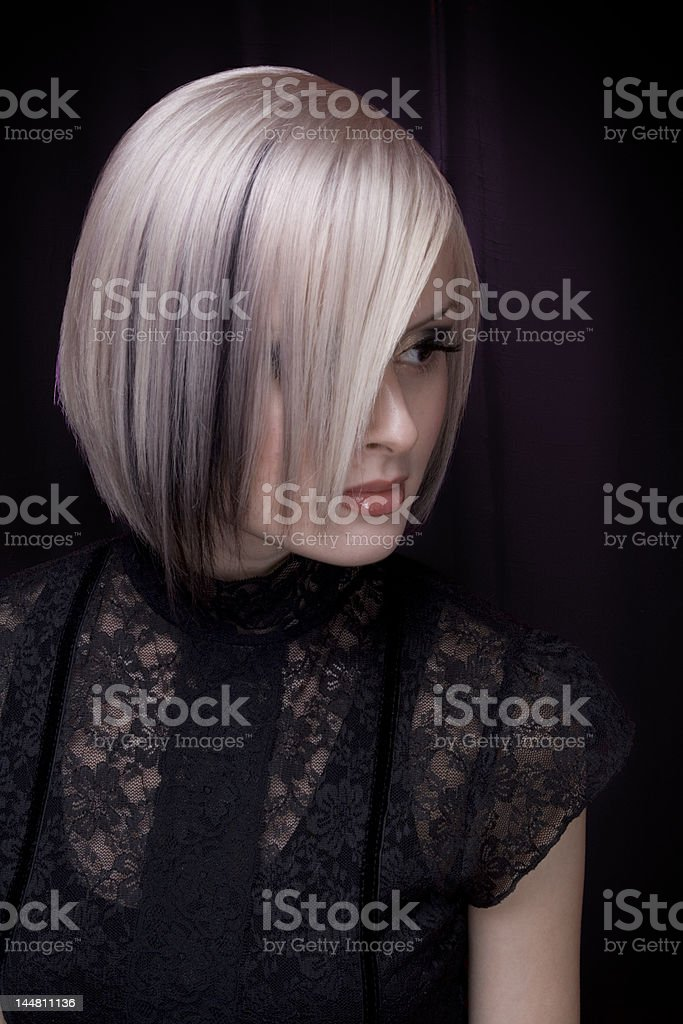 Blonde fashion royalty-free stock photo
