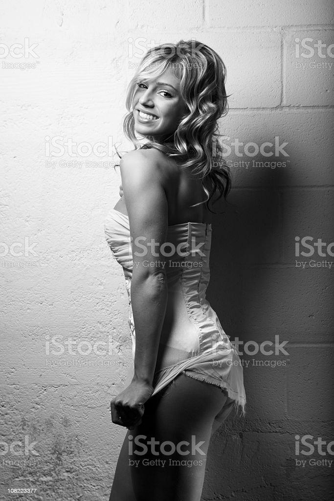 Blonde Girl royalty-free stock photo