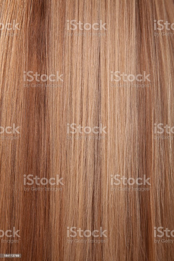 Blonde Hair Background royalty-free stock photo