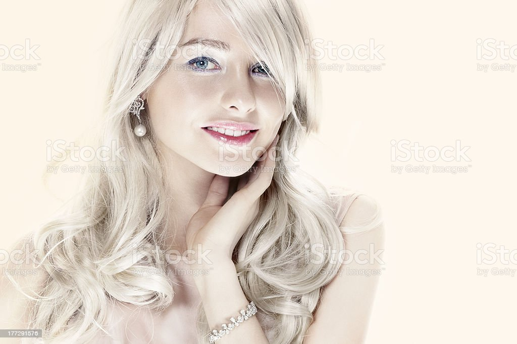 blonde royalty-free stock photo