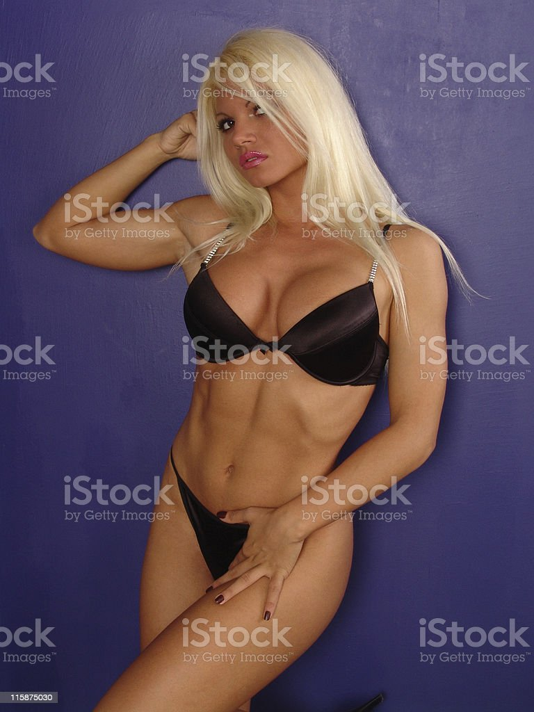 Blonde Sexy Girl 05 royalty-free stock photo